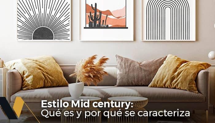 estilo mid century que es y por que se caracteriza