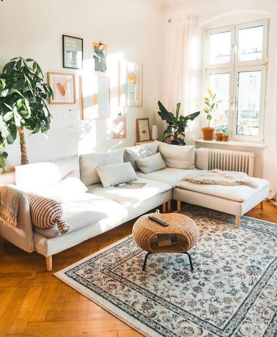 tendencia en diseño de interiores plantas y flores