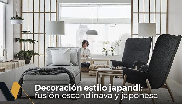 decoración estilo japandi fusion escandinava y japonesa