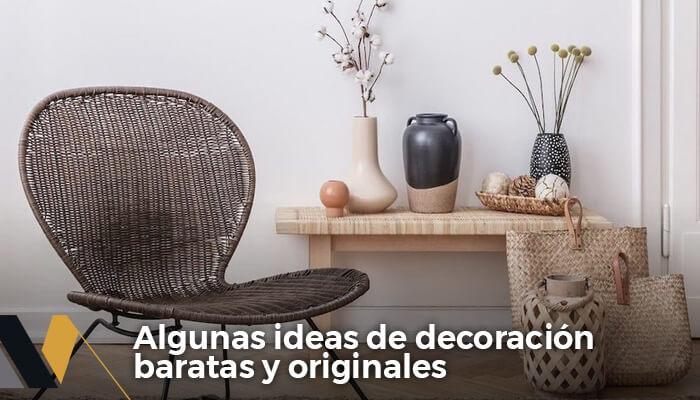 ideas de decoración baratas y originales